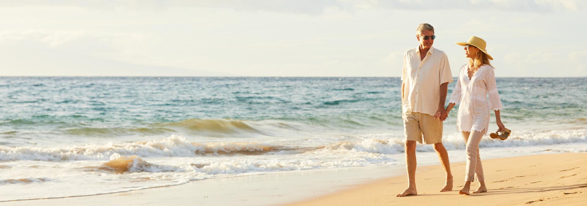St. George Island Beach - Walking